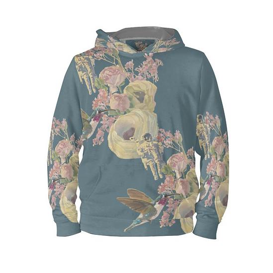 Hoodie-Pullover, petrol, unisex