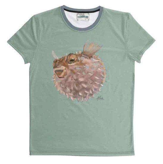 T-Shirt Kugelfisch, unisex
