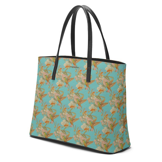 Art on a Bag, Leder, asiatisch blau, ab 249 EUR