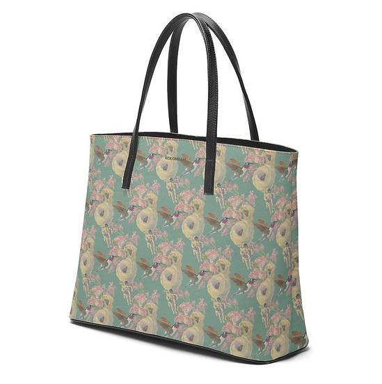 Art on a Bag, Leder, Kolibri und Astronaut, Minze, ab 249 EUR