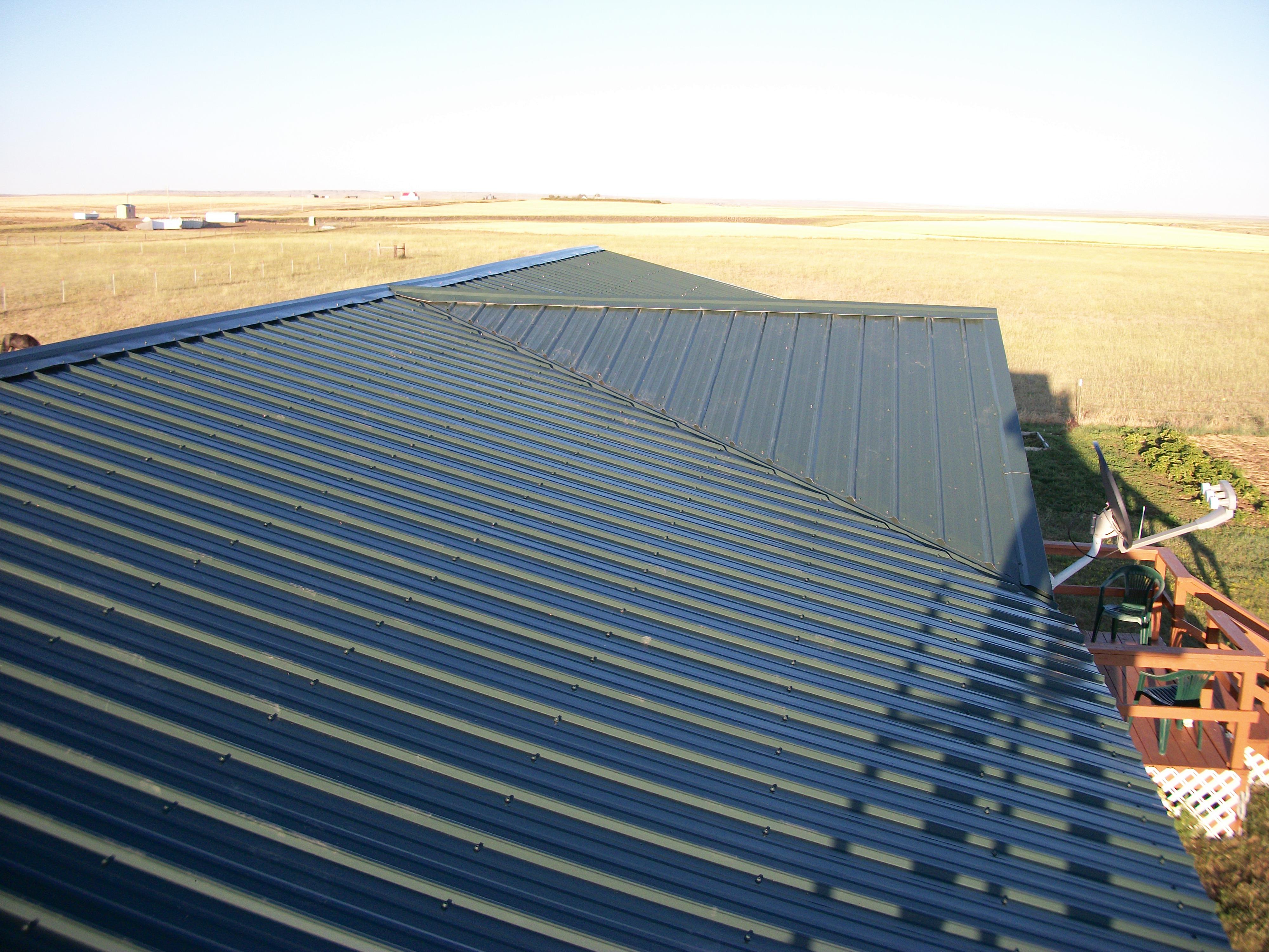 J&T Roofing Billings steel Roof