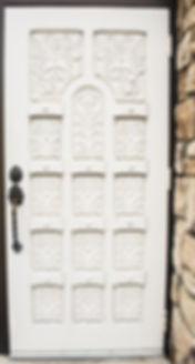 old handmade door at Jonathan K. Davis, DDS, dentist in Findlay, OH