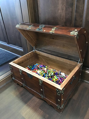 Treasure Chest at Jonathan K. Davis, DDS, dentist in Findlay, OH