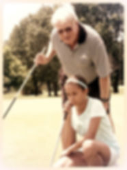 Dr. Spragg coaching golf after retiring from Jonathan K. Davis, DDS, dentist in Findlay, OH