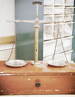 old scales used in the lab at Jonathan K. Davis, DDS, dentist in Findlay, OH