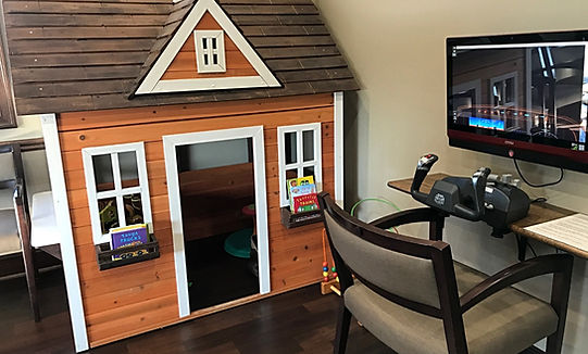 Kids Playhouse at Jonathan K. Davis, DDS, dentist in Findlay, OH