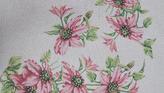 Καρέ Ροζ Λουλούδια GobelinL