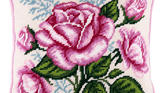 Kit Μαξιλάρι Ε15 (Bouquet of Roses)