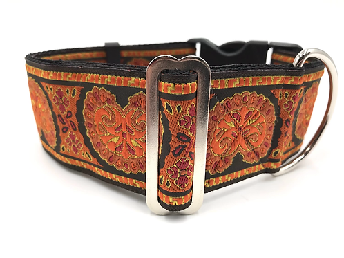 """Shell"" 2"" Wide Regular Buckle or Half Check Martingale"