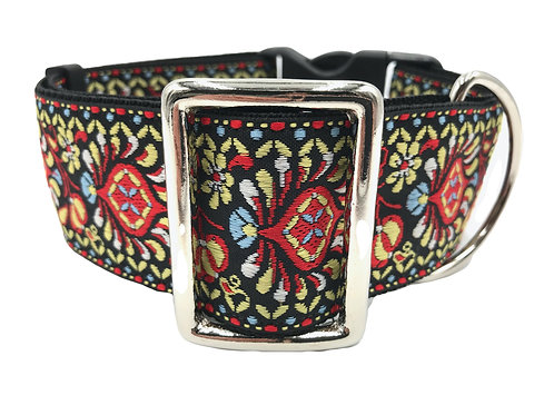 """Woodstock"" 2"" Wide Regular Buckle or Half Check Martingale"