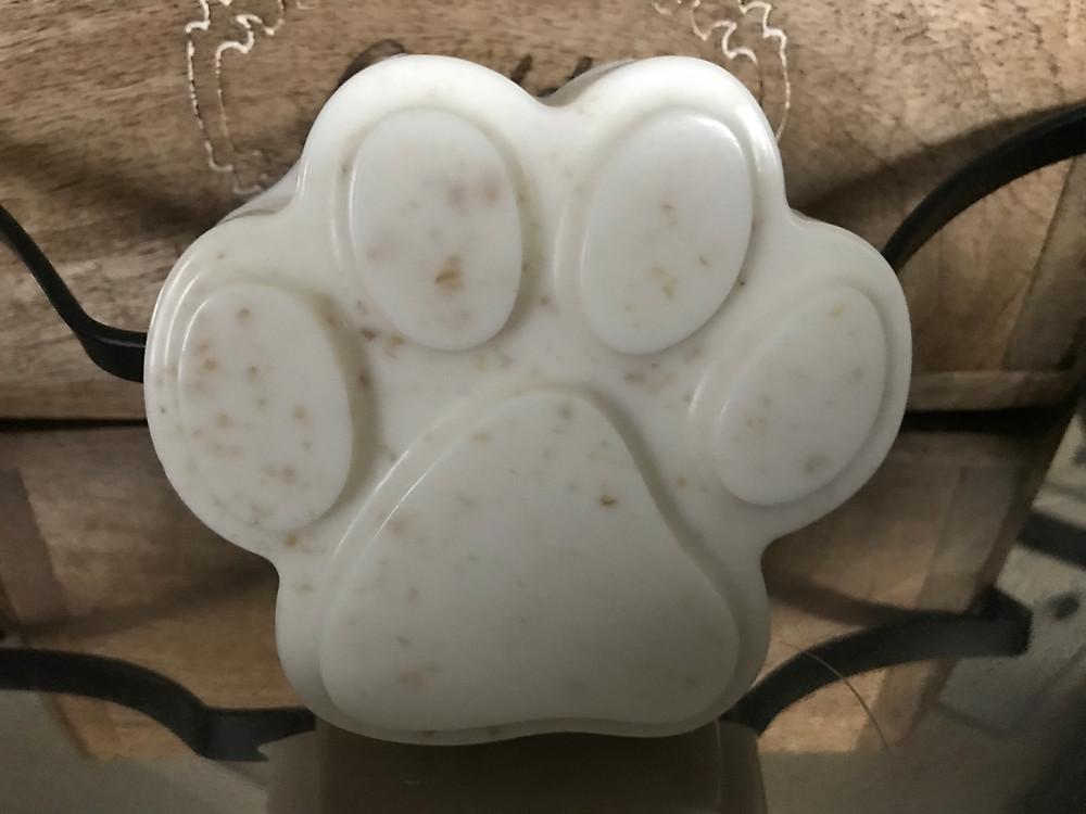 Oatmeal Dog Shampoo Bar