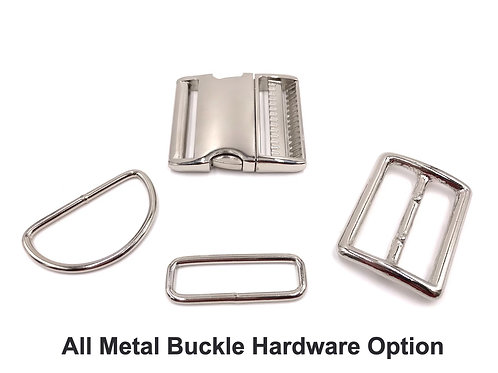 "1 1/2"" All Metal Upgrade (Buckle Collars ONLY)"
