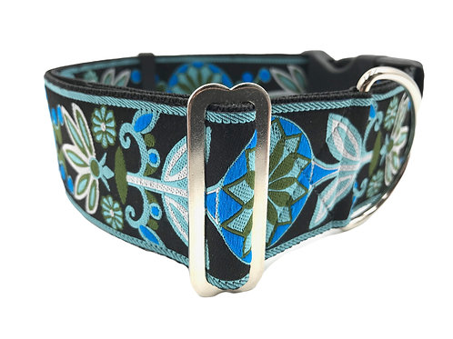 """""""Sapphire"""" 2"""" Wide Regular Buckle or Half Check Martingale"""