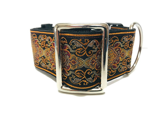 """Cordivan"" 2"" Wide Regular Buckle or Half Check Martingale"