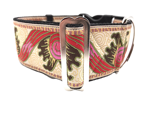 """Sunburst"" 2"" Wide Regular Buckle or Half Check Martingale"