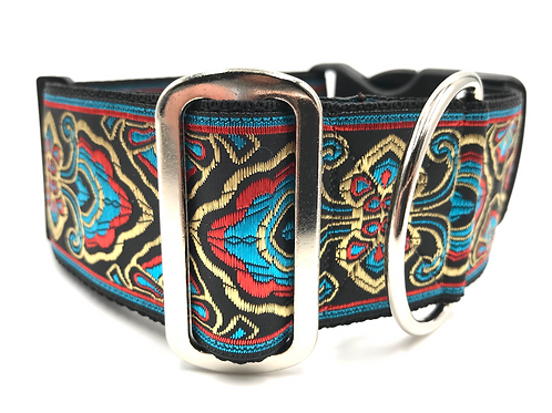 """""""River"""" 2"""" Wide Regular Buckle or Half Check Martingale"""
