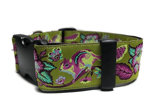 """""""Chipmunks on Green""""  