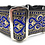 """Thumbnail: """"Excalibur"""" 2"""" Wide Regular Buckle or Half Check Martingale"""