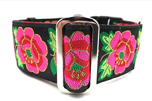 """Hibiscus"" 2"" Wide Regular Buckle or Half Check Martingale"