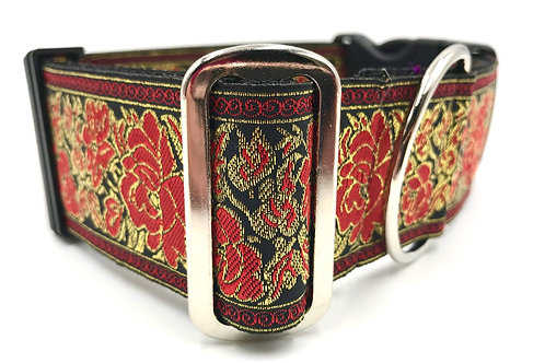 """""""Ruby"""" 2"""" Wide Regular Buckle or Half Check Martingale"""