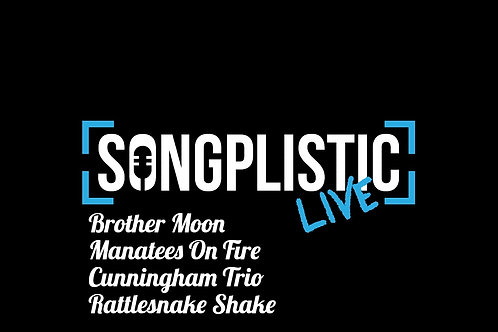 Songplistic Live Ticket Thursday 4th November at 13th Note Glasgow