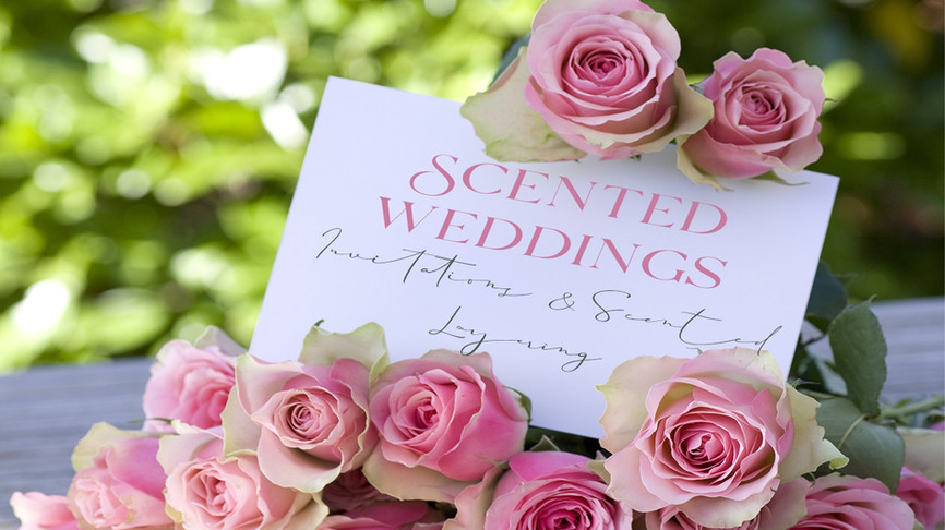 scented weddings image