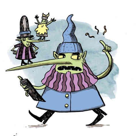 The Strong-nosed Goblin Supervisor
