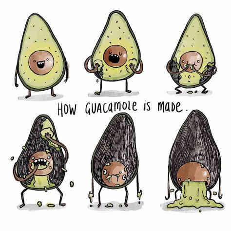 How Guacamole Is Made