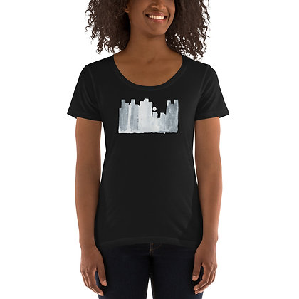 'The City' Ladies' Scoopneck T-Shirt