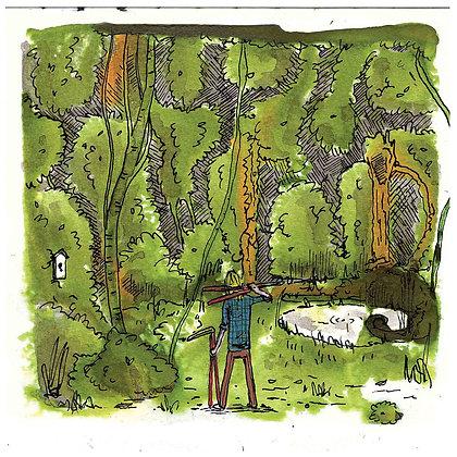 Overgrown - Print