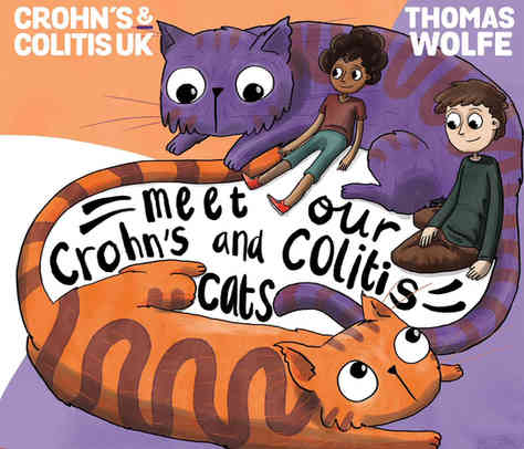 Meet Our Crohn's & Colitis Cats: Book Cover