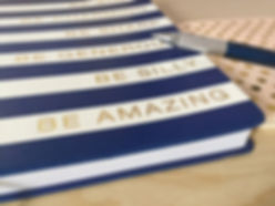 Be Amazing Notebook