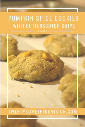 Pumpkin Spice Cookies Recipe - Twentysomething Vision