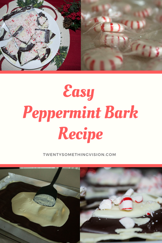 Peppermint Bark Recipe - Twentysomething Vision