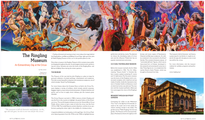 The Ringling Museum - Tampa Style Magazine