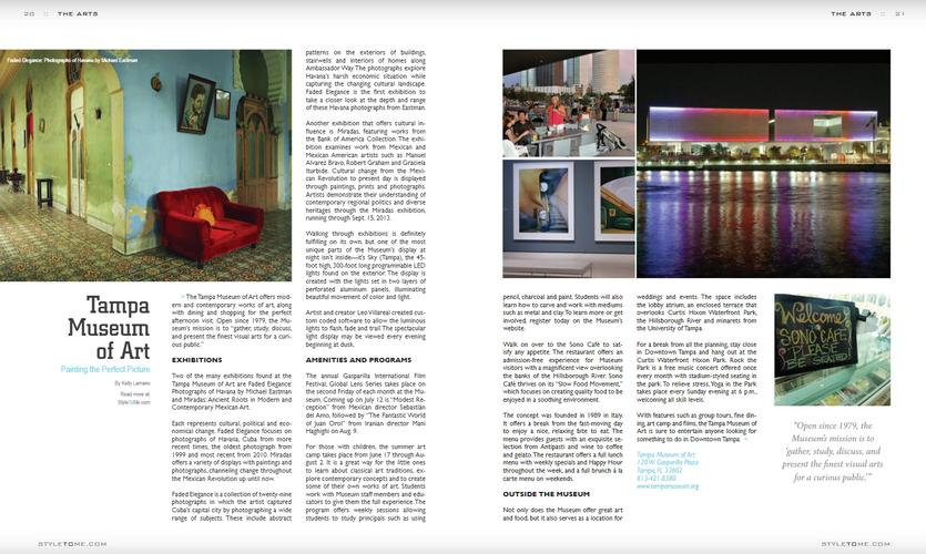 Tampa Museum of Art - Tampa Style Magazine