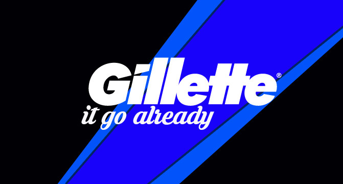 Fellas, Gillette It Go Already