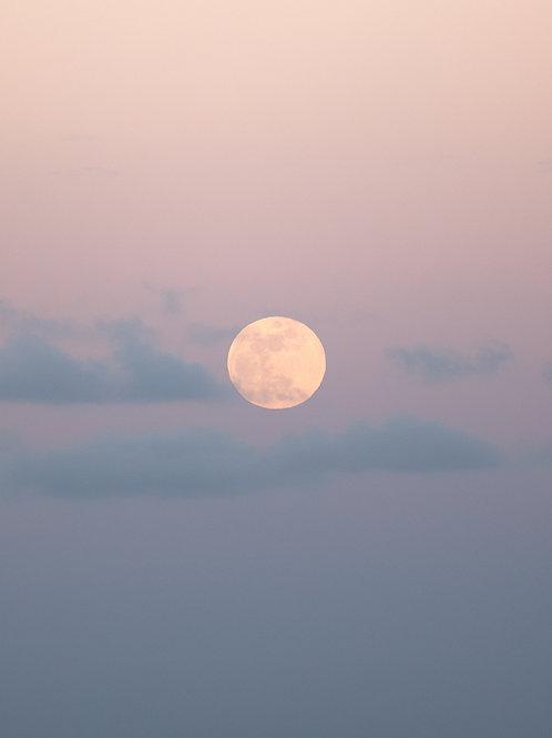 O'ahu Moon Print