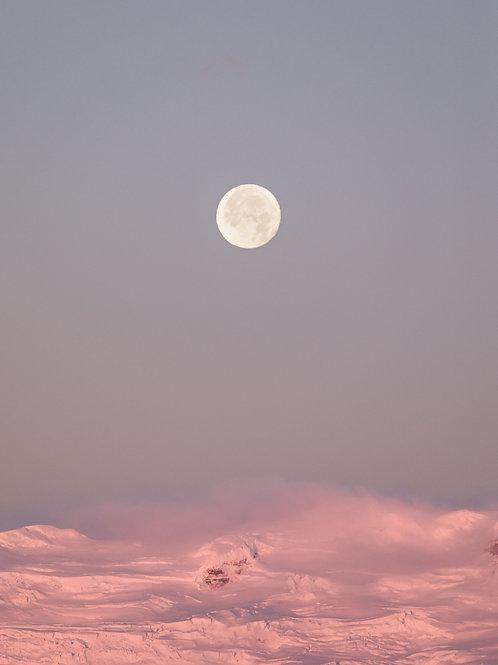 Jökulsárlón Moon Print