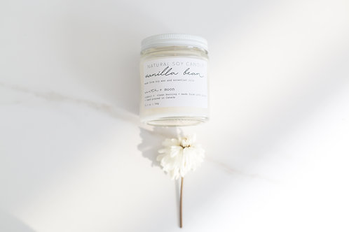 Vanilla Bean Essential Oil Soy Candle