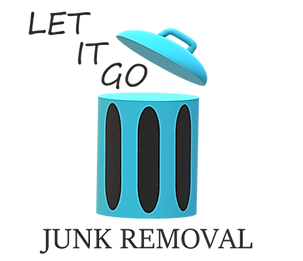 let it go junk removal logo, junk removal contact page, best junk removal near me, central fl