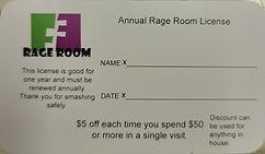 rage room license