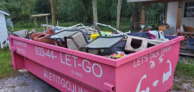 Let it go junk removal, the number 1 junk removal service in florida