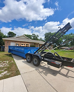 Dumpster rental in orange county florida, volusia county florida and lake county florida