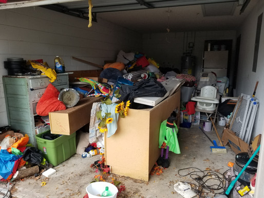How do I deal with hoarder tenants?