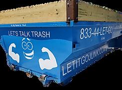 18 yard dumpster roll off