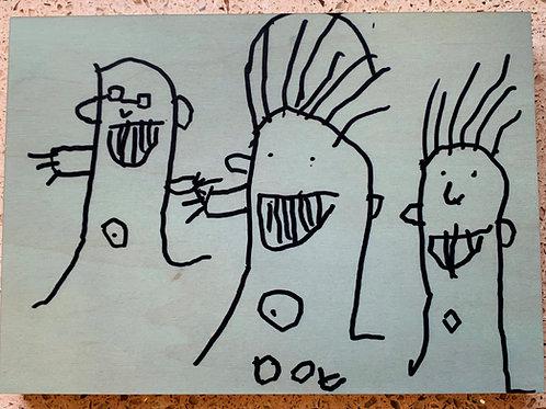 Dovie's Artwork - wood panel