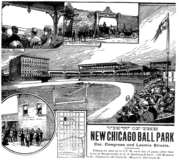 West Side Park, Harrison and Loomis, Chicago