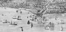 Lakefront Park, 1880s, on site of today's Millennium Park