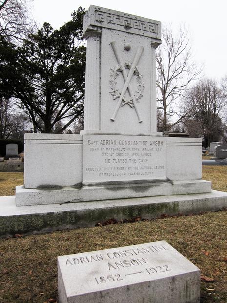 Cap Anson Grave, Oak Woods Cemetery, Chicago
